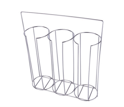 Stainless steel petri dish rack 60mm, 90mm petri dishes